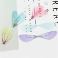 20pcs Dragonfly Wing Earring Pendant for DIY Connector Charm Jewelry Finding