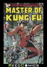 SHANG-CHI MASTER OF KUNG FU OMNIBUS VOLUME 1 HARDCOVER (696 Pages) New Hardback