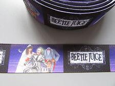 Beetle Juice Grosgrain Ribbon 2.5cm x 1 Metre Sewing/Crafts/Cake