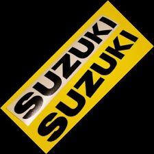 Suzuki Black sticker srad 750 gsx r 600 katana 1000 sv gixxer 300 125 moto gp s