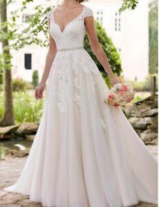 Modern, A-line, Ivory, Wedding Dress still in original packaging