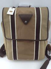 Men's FOSSIL Brand LANE RuckSack Khaki CANVAS Backpack - $148 MSRP - 10% off