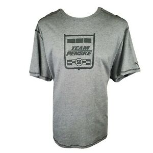 Indycar 500 Motor Speedway Team Penske Puma T-Shirt Sz 3XL EXCELLENT