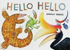 Hello Hello [Books for Preschool and Kindergarten, Poetry Books for Kids]