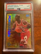 1994 Emotion N-Tense Michael Jordan # 3 PSA 9