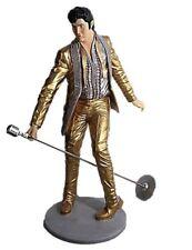 Elvis Presley Dancing Life Size Statue In Gold