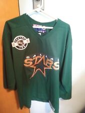 Vintage Dallas Stars Hockey Jersey Medium Pro Player NHL Center Ice EXCELLENT
