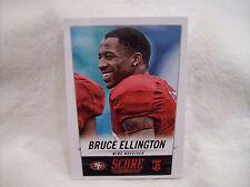 2014 Score Football #345 Bruce Ellington Rookie card - 49ers