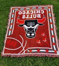 The Northwest Company Nba Chicago Bulls Throw Blanket made in Usa