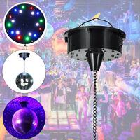 18 RGB LED Licht Drehbar Motor Für Spiegel Ball Stage Ktv Party Sound