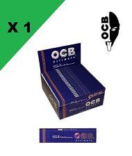 OCB Slim ultimate 1 boite de 50 carnets de feuilles ! LES PLUS FINES DU MONDE !