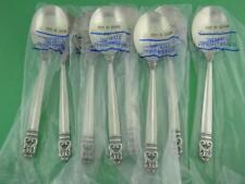 8 Sterling INTERNATIONAL Cream Soup Spoons ROYAL DANISH mint in wrappers