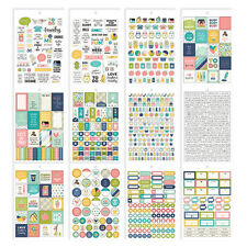 Carpe Diem HOME - A5 PLANNER STICKER TABLET - Domestic Bliss - fits Filofax