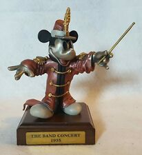 """Chilmark Pewter Disney Mickey Mouse: """"The Band Concert 1935"""" LE 263/500"""