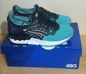 Womens Asics Gel Lyte Size UK 6 Colour Black and Green