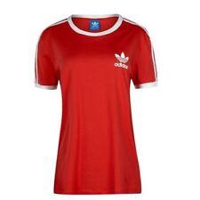 Camisetas de mujer adidas color principal rojo
