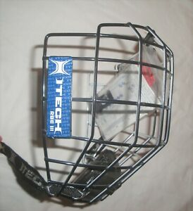 NEW ITECH RBE III OREO CAGE LARGE BLACK AND WHITE RARE NCAA
