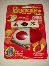 New.Bostitch Buggles Hole Punch w/bonus Stickers