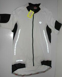 Pearl Izumi P.R.O. series White Cycling triathlon Jersey Short Sleeve Mens L