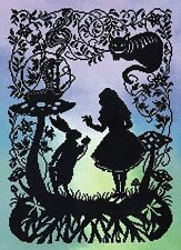 BOTHY THREADS  XFT4  ALICE IN WONDERLAND  Counted  Cross Stitch  Kit