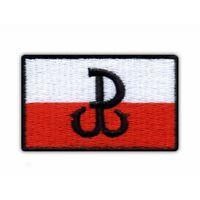Fighting Poland - Anchor/Polska Walcząca - Kotwica Embroidered PATCH/BADGE
