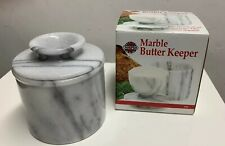 Norpro Marble Butter Keeper Keeps Butter Fresh, Soft, Sweet Up To 30 Days