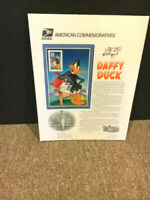 33c Daffy Duck Stamp USPS #567 Commemorative Stamp Panel-sealed original Shrink