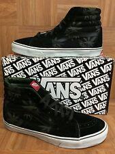 RARE!🔥 VANS SK8-HI Originals Palm Leaf OG Bud Green Black Sz 13 THC Peace Leaf