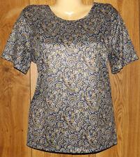 Salon Studio Petite Women Casual Shirt Top Pullover Blouses Sz LP #1632
