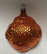 Antique Goldfish Fish German Glass Ornament 3�