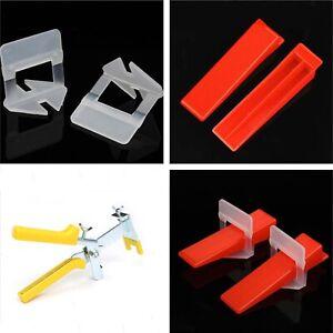 Fliesen Nivelliersystem Zuglaschen 1 1,5 2 3 mm Verlegehilfe Keile Zange Set