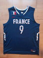 Tony Parker NIKE Frankreich France Trikot Jersey XL blue blau