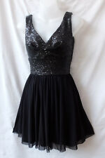 Elise Ryan Size 8 Little Black Dress Evening Cocktail Party Occasion Wedding