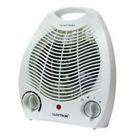 Lloytron Vertical Ventilateur Chauffage 2 Kilowatt Blanc (Modèle Numéro F2001WH)