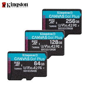 NEW Kingston Canvas Go! Plus 64G 128G 256G UHS-I U3 microSDXC Memory Card SDCG3