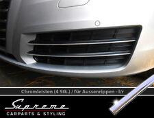 Audi A7 C7 Type 4G - 3M Garn Chromée pour Calandre,Inférieure Extérieur sans Acc