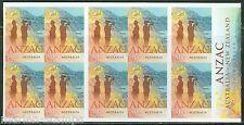 AUSTRALIA   2015 WW I ANZAC $7 SELF ADHESIVE BOOKLET  MINT NEVER HINGED