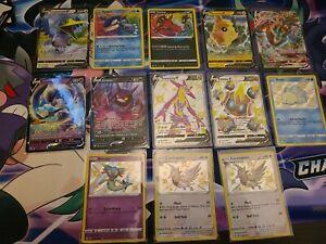 Lot 12 Shiny Holo Rare Shining Fates Pokemon