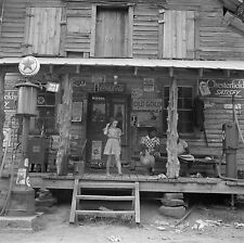 "1939 Old Photo, Country Store, Tobacco, Advertisement, Coke, 12""x12"", Vintage"