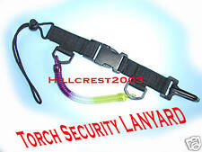SCUBA DIVING TORCH SECURITY LANYARD WITH QUICK RELEASE