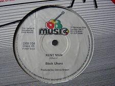 "BLACK UHURU... affittare MAN... Roots Reggae OG classico 12"" SINGLE... Minty Crisp"