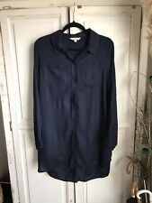 French Connection Shirt Dress With Pockets Size 10