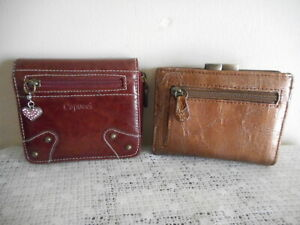 2 X LADIES  SMALL  WALLETS/PURSES (MARGAUX---CAPUCCI)   FREE POSTAGE