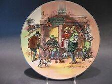 Antique Royal Doulton English Porcelain Roger Solem El Cobler Plate #D6302