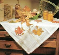 Cross Stitch - Indian Summer Tablecloth - Pattern - NEW