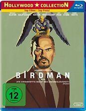 BIRDMAN (Michael Keaton, Zach Galifianakis) Blu-ray Disc NEU+OVP