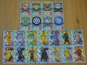 Match Attax Champions League 2021/2022 Crystal Parallel Karten Nr. 244 - Nr. 387