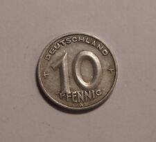 10 Pfennig Pfenning DDR 1949 A  (B4)