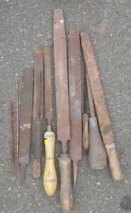 Job Lot of Engineers Metal Files