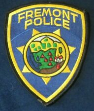 FREMONT Police Department California CA old motorcycle PD sheriff car free ship